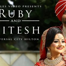 Ruby + Mitesh // Cinematic Wedding Day Highlight