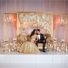 Tina + Alok // Indian Wedding at Four Seasons Las Vegas