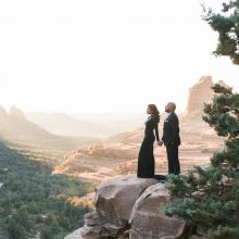 Ina + Christo // Sedona, AZ Engagement Session by Ushna Khan Photography