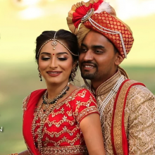 Mikita + Pratik // Cinematic Wedding Day Highlight