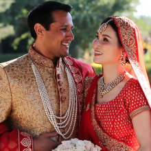 Melanie + Rahul // Cinematic Wedding Day Highlight