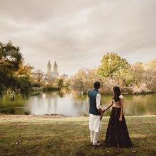 Priya + Shawn // Central Park NYC Engagement Session by EIN Photo
