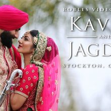 Kavita + Jagdeep // Cinematic Same Day Highlight by Robles Video Production