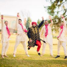 Bhawna + Bimal // Toronto Indian Wedding by Qiu Photography