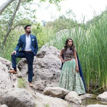 Chandni + Jay // Engagement Session by Peter Nguyen Photography