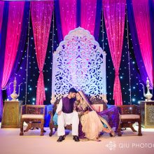 Areeba + Fahd // Toronto South Asian Wedding by  Qiu Photography