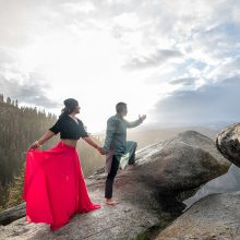 Priya + Manthan // Yosemite National Park E-Shoot by Peter Nguyen Photography