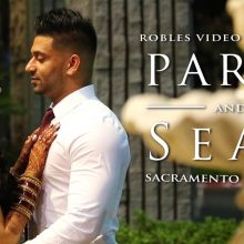 Parvi + Sean // Cinematic Reception Highlight by Robles Video