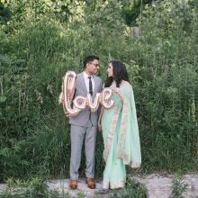 Toral + Sawan // Toronto Engagement Session by Strokes Photography
