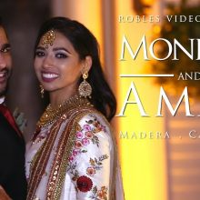 Monique + Amar // Cinematic Engagement Ceremony Highlights by Robles Video