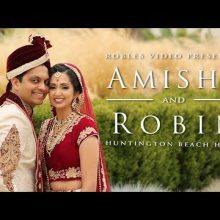 Amisha + Robin // Cinematic Wedding Day Highlight by Robles Video