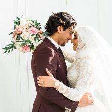 Amna + Abdallah // Blush and Floral Wedding by Photography by Azra