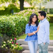Thaksha + Nishant // Mississauga Engagement Session by Qiu Photography