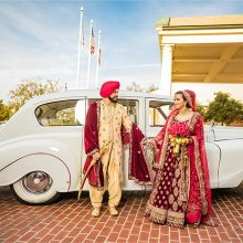 Ravpreet + Japjit // Bakersfield Sikh Reception by Wedding Documentary