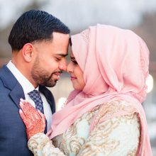 Fawzia + Abbas // Winter Engagement Ceremony by Azra Photography