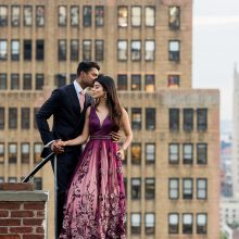 Malavika + Ryan // NYC Engagement by Shanti Weddings