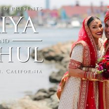 Priya + Mehul // Cinematic Hindu Wedding Day Highlight by Robles Video Productions
