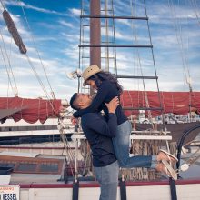 Asha + Aashish // Engagement Session by Indian Wedding Snap
