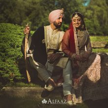Harneet + Joe  // Chicago Wedding Photography by Alfaaz Photography