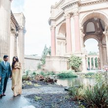 Neha + Milan // San Francisco Engagement Session Photography by Belluxe Photography