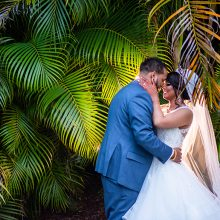 Christina + Randy // Orlando Sea World Wedding Photography by Castaldo Studios