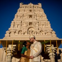 Ben + Valli // Murugan Temple of North America Wedding Photography by Akbar Sayed Photography