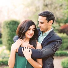 Meg + Saumil // Engagement Session Photography by Rachel Howden Photography
