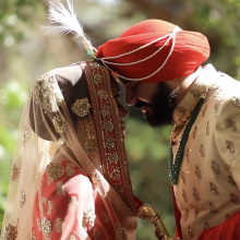 Ivonjyot + Jagdeep // Sikh Wedding Day Highlights by Robles Video Productions