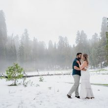 Christine + Sanjay // Engagement Session Photography by Peter Nguyen Studio