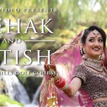 Mehak + Nitish // Punjabi Hindu Cinematic Same Day Edit by Robles Video Productions