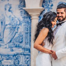 Radha + Vik // Portugal South Asian Wedding by Aguiam Wedding Photography