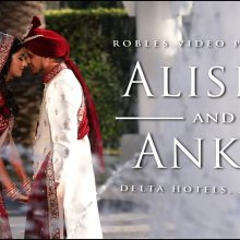 Alisha + Ankit // Cinematic Wedding Day Highlight by Robles Video Productions