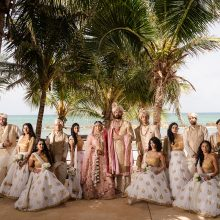 Neil + Shatabdi // Riviera Maya, Mexico Indian Wedding by Lin and Jirsa & Tum Hi Ho Events