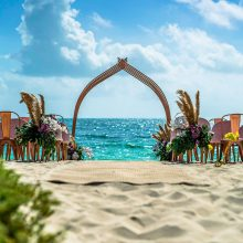 Beach Ceremony Set up