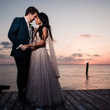 Michael + Nafessa // Caribbean Destination Indian Wedding