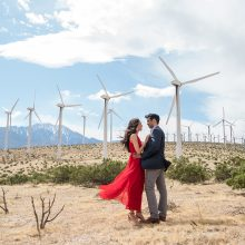 Megha + Raj // California Engagement Session