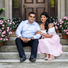 Ruchi + Sudhesh // Filoli Gardens and Half Moon Bay State Beach Pre-Wedding Session
